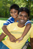 Portrait of a indian family Stock Photography