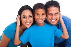 Portrait indian family stock photography
