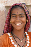 Portrait Indian girl Stock Image