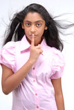 Portrait of Indian girl Royalty Free Stock Photography