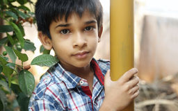 Portrait of Indian Little Boy Royalty Free Stock Photos