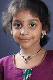 Portrait of Indian Little Girl Royalty Free Stock Photo