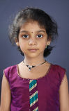 Portrait of Indian Little Girl Stock Photography