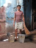 Portrait of Indian man Royalty Free Stock Photography