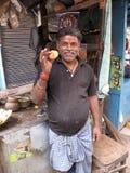 Portrait of Indian man Stock Photos