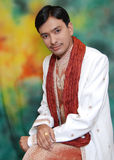 Portrait of Indian man Royalty Free Stock Images