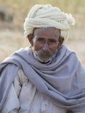 Portrait Indian man. Pushkar, India Stock Photos