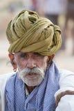Portrait Indian man. Pushkar, India Stock Images