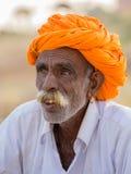 Portrait Indian man, Pushkar. India Royalty Free Stock Image