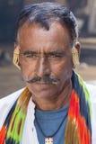 Portrait Indian man, Pushkar. India Stock Photos