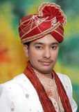 Portrait Indian man turban  Stock Images