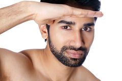 Portrait of an Indian man Royalty Free Stock Photography