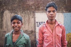 Portrait of Indian men Stock Photography