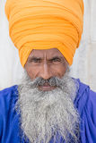 Portrait of Indian sikh man Royalty Free Stock Photos