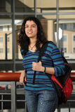 Portrait of Indian Student Stock Images