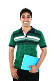 Portrait of Indian student. Stock Image