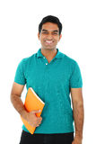 Portrait of Indian student. Royalty Free Stock Images