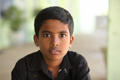 Portrait of Indian teen boy Stock Photography