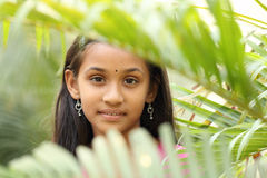 Portrait of Indian teen girl Royalty Free Stock Photos