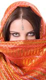 Portrait of indian woman Stock Images
