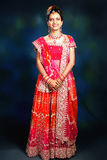 Portrait of Indian woman Stock Photography