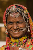 Portrait indian woman Stock Photo