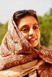 Portrait of Indian woman  Royalty Free Stock Photography