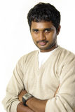 Portrait of Indian young man Royalty Free Stock Photos