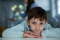 Portrait of innocent boy Stock Images
