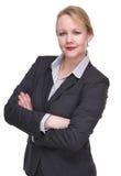 Portrait of an intelligent businesswoman Stock Photo