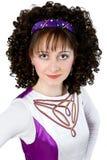 Portrait of irish dancer Royalty Free Stock Photos