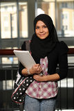 Portrait of Islamic Student Stock Photo