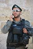 Portrait of Israel Defense Forces Stock Photography