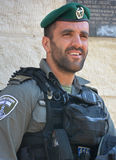 Portrait of Israel Defense Forces Stock Photo