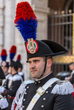 Portrait of italien soldier Stock Photography