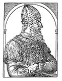 Portrait of Ivan III the Great, Grand Prince of Moskow. Ivan III the Great, Grand Prince of Moskow from 1462, he  reconstructed the Kremlin and laid the Royalty Free Stock Photo