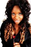Portrait of Jamaican girl. Stock Image