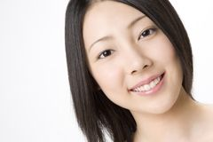Portrait of Japanese woman royalty free stock images