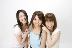 Portrait of Japanese women Royalty Free Stock Image