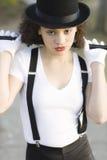 Portrait of Jazz Dancer Royalty Free Stock Photography
