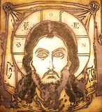 Portrait of Jesus Royalty Free Stock Image