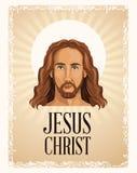 Portrait jesus christ religious Stock Photos