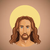 Portrait jesus christ spirituality Royalty Free Stock Photos