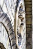 Portrait of a jesus sculpture Stock Photo