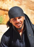 Portrait of a Jordanian bedouin Royalty Free Stock Photo