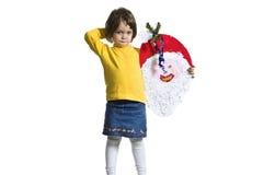 Portrait of joyful girl Stock Images