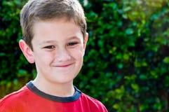 Portrait of joyful kid Royalty Free Stock Photos
