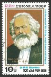 Portrait of Karl Marx Royalty Free Stock Images