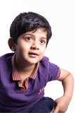 Portrait of a kid Royalty Free Stock Images