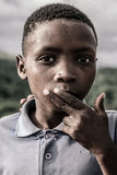 Portrait of a kid, South Africa Royalty Free Stock Image